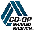 CO-OP Shared Branch Locations Logo